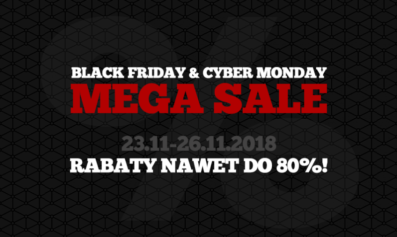 Promocje Black Friday oraz Cyber Monday 2018