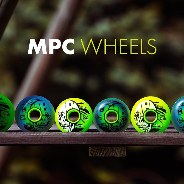 Kółka MPC - Freestyle w dwóch wersjach i 3 różnych rozmiarach