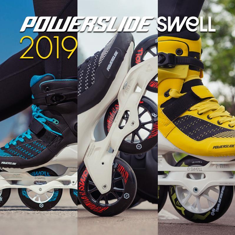 Najnowsze modele fitnessowych rolek Powerslide - Swell