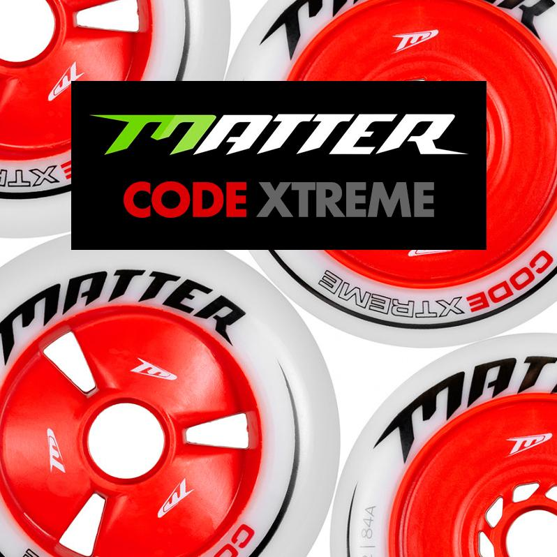 Nowe kółka Matter - Code Extreme do Inline Alpine oraz Speed Slalomu
