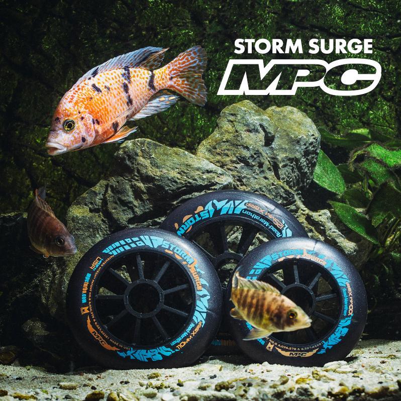 Kółka do jazdy szybkiej na deszcz MPC - Storm Surge