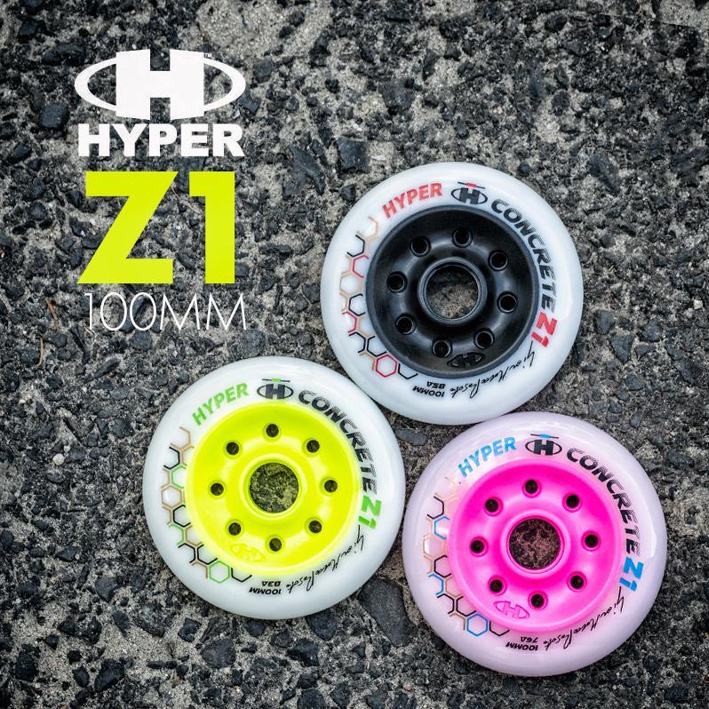 Kółka Hyper - Concrete Z1 100mm w różnych twardościach