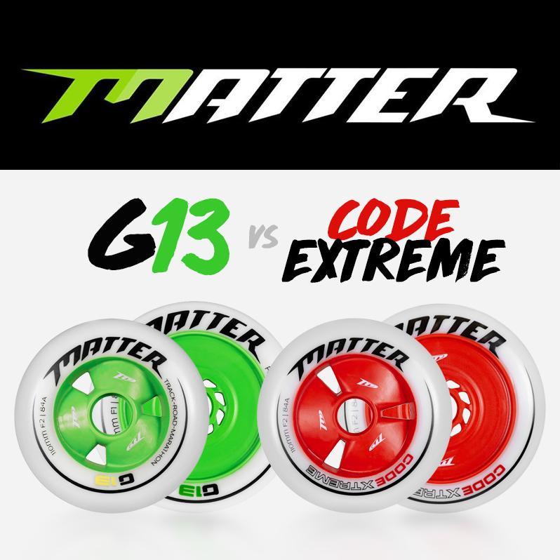 Kółka do Inline Alpine - Code Extreme czy G13 - które wybrać?