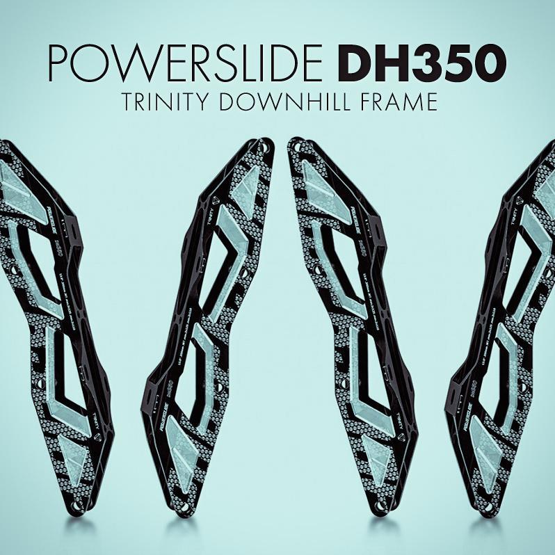 Nowe szyny Powerslide do Downhillu na mocowanie Trinity - DH350