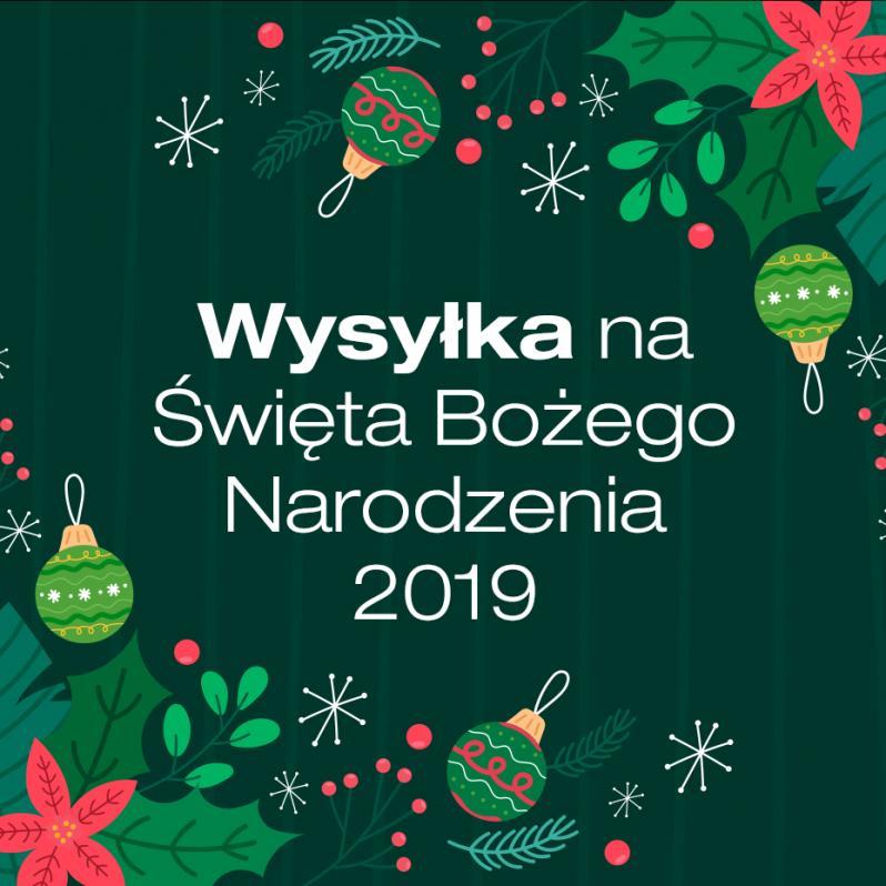 Wysyłka na Święta Bożego Narodzenia 2019