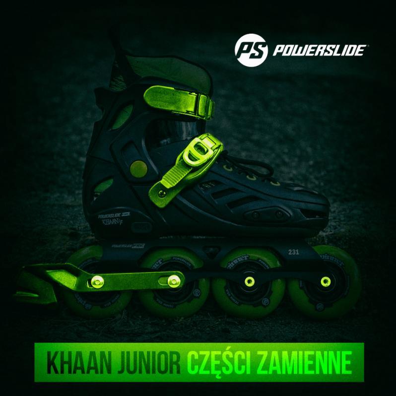 Powerslide Khaan Junior - Spis części zamiennych