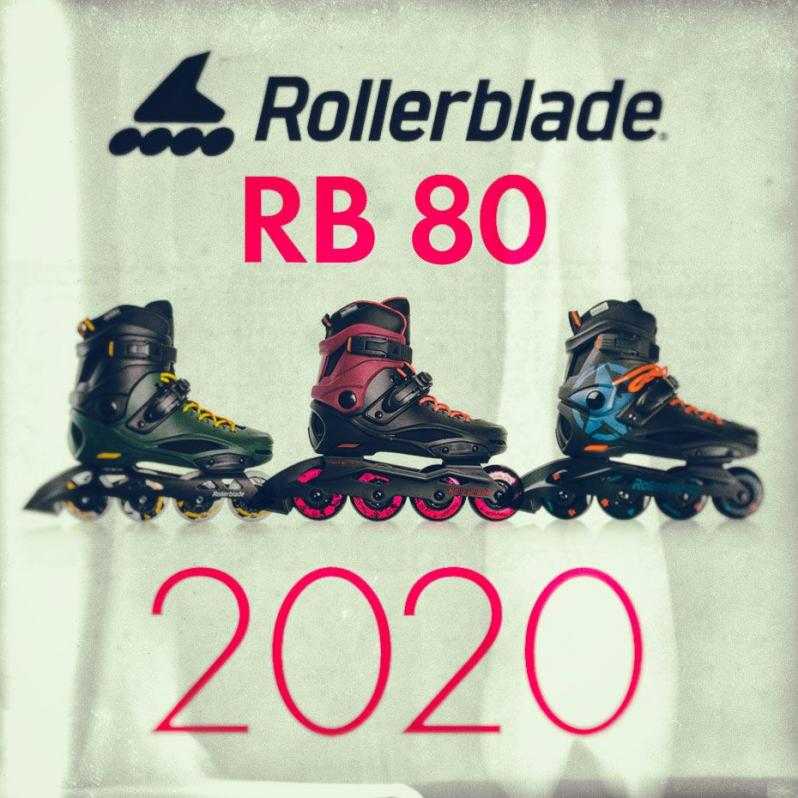Rollerblade - RB 80 - trzy modele na sezon 2020