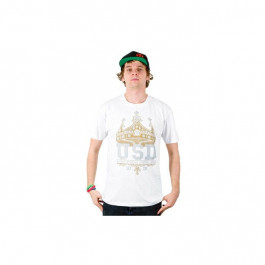 Usd - Crown T-shirt - Biały