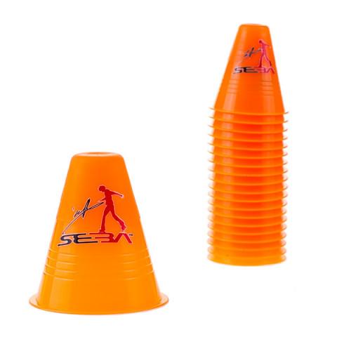 Seba - Slalom Cones Dual Density - Pomarańczowe (20 szt.)