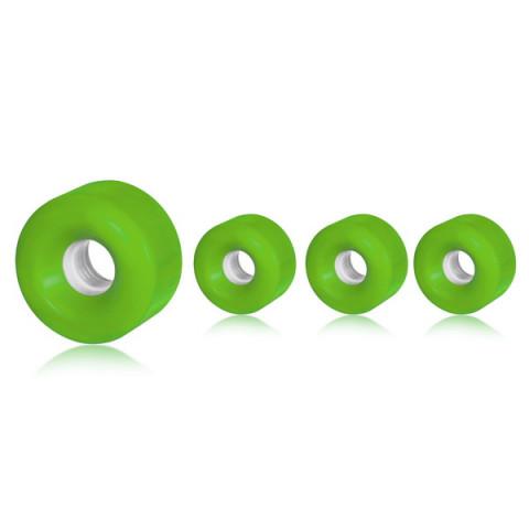 Powerslide - Blank Roller Derby 58x33mm/78a - Neonowy Zielony (4 szt.)