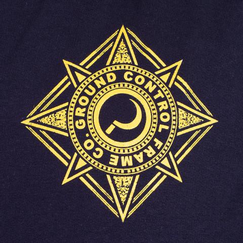 Ground Control - Crest Hoodie - Czarna