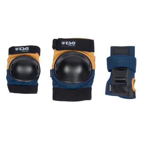 Ochraniacze - TSG - Junior Set Niebiesko/Żółty - Zdjęcie 1
