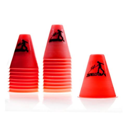 Seba - Slalom Cones - Czerwone (20 szt.)