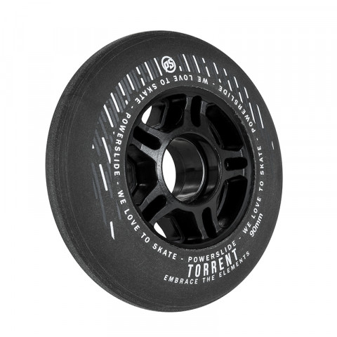 Powerslide - Torrent 90mm/84a-70a - Czarne (4 szt.)