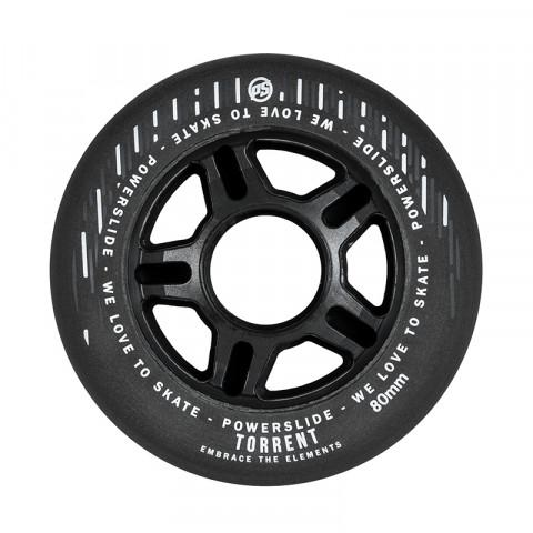Powerslide - Torrent 80mm/84a-70a - Czarne (4 szt.)