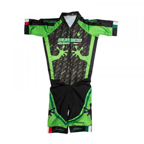Stroje - Dugeco - Speed Suit - Czarno/Zielony - Zdjęcie 1