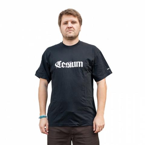 Koszulki - Cesium - Classic - Czarny - Zdjęcie 1