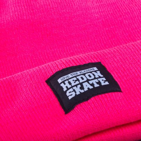 Hedonskate - Beanie - Różowa Neon
