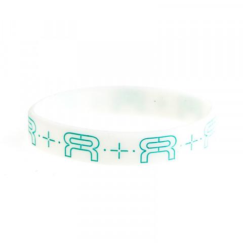 FR - Wristband 180mm - Biała Glow/Jasno Niebieska