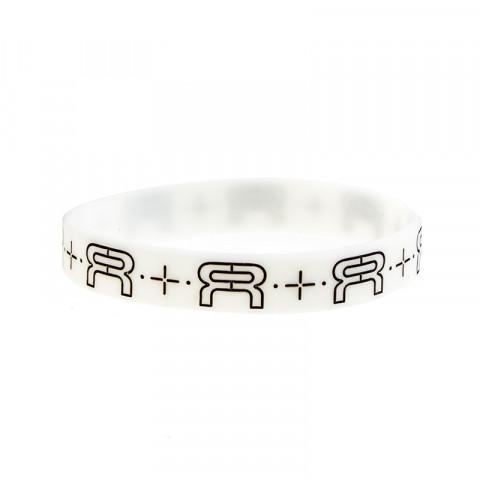 FR - Wristband 202mm - Biała Glow/Czarna