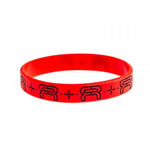 FR - Wristband 202mm - Czerwono/Czarna