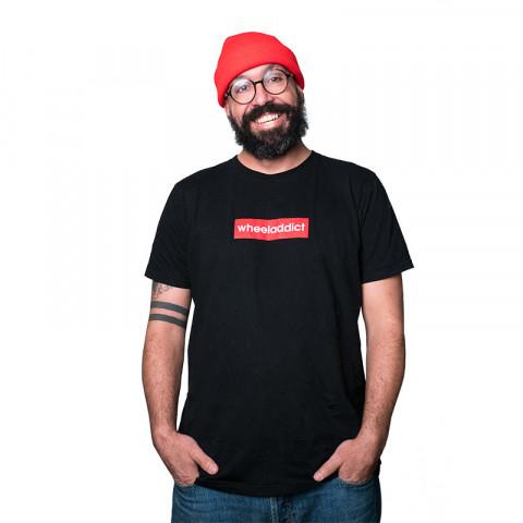 Koszulki - Wheeladdict - Logo T-shirt - Czarny - Zdjęcie 1