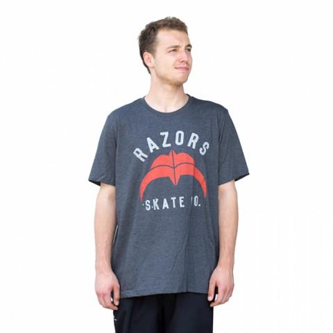 Razors - Skate Co 2 T-Shirt - Czarno/Czerwony